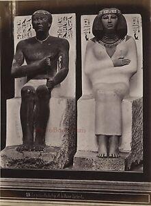 Egitto Cairo Museo Di Boulaq Foto Albumina Stampa Verso 1890 IN Piccolo Format