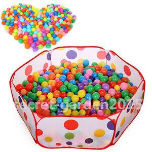 50PCS-SOFT-PLASTIC-OCEAN-BALL-baby-kid-children-TOY-SWIM-pit-pool-game-JCAU