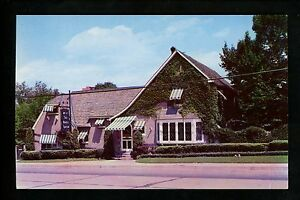 Restaurant Postcard Maryland Md Silver Spring Mrs K S Toll House