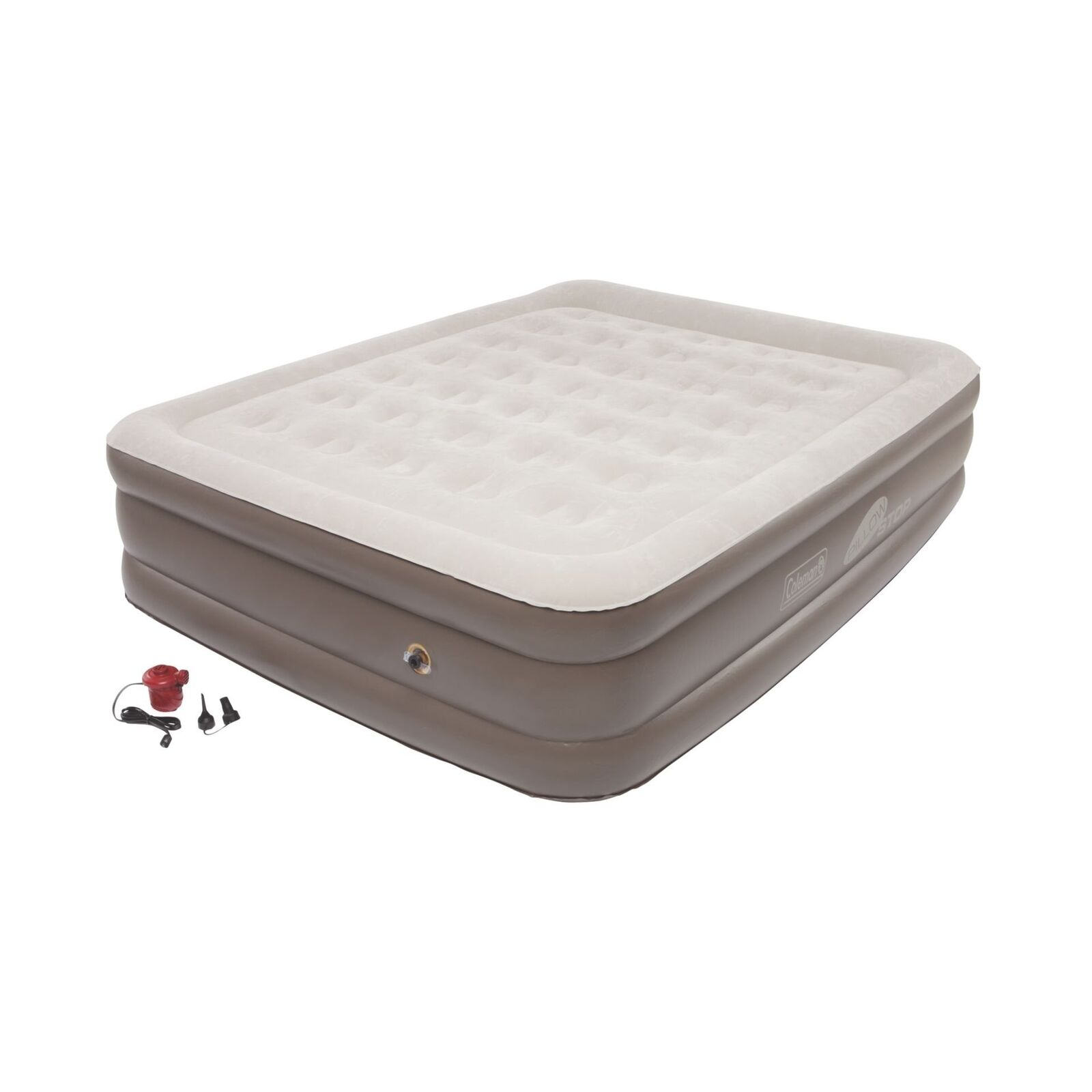 Coleman SupportRest Plus PillowStop  Double High Airbed Queen  buy cheap new