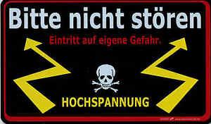 Schild 25 Cm Bitte Nicht Stoeren Eintritt Auf Eigene Gefahr