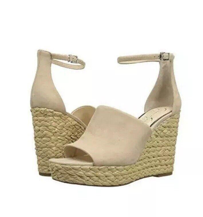 Jessica Simpson Suelka Sand Dune Wedge Wedge Wedge schuhe Soze 10 8f9054
