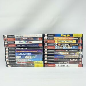 Lot-of-22-Playstation-2-PS2-Video-Games-1-All-Complete-amp-Tested