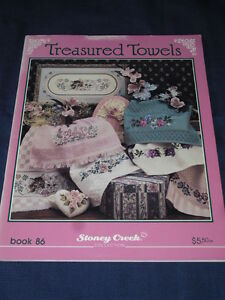 TREASURED-TOWELS-Book-86-EMBROIDERY-CRAFT-SEWING-BOOK