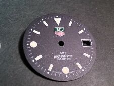 Tag Heuer dial - 28 mm GMT Professional, BLACK dial