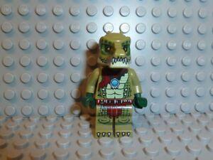 LEGO Minifiguren Lego® Chima Figur Crawley Crocodile aus Set 70001 70005 70010 loc013
