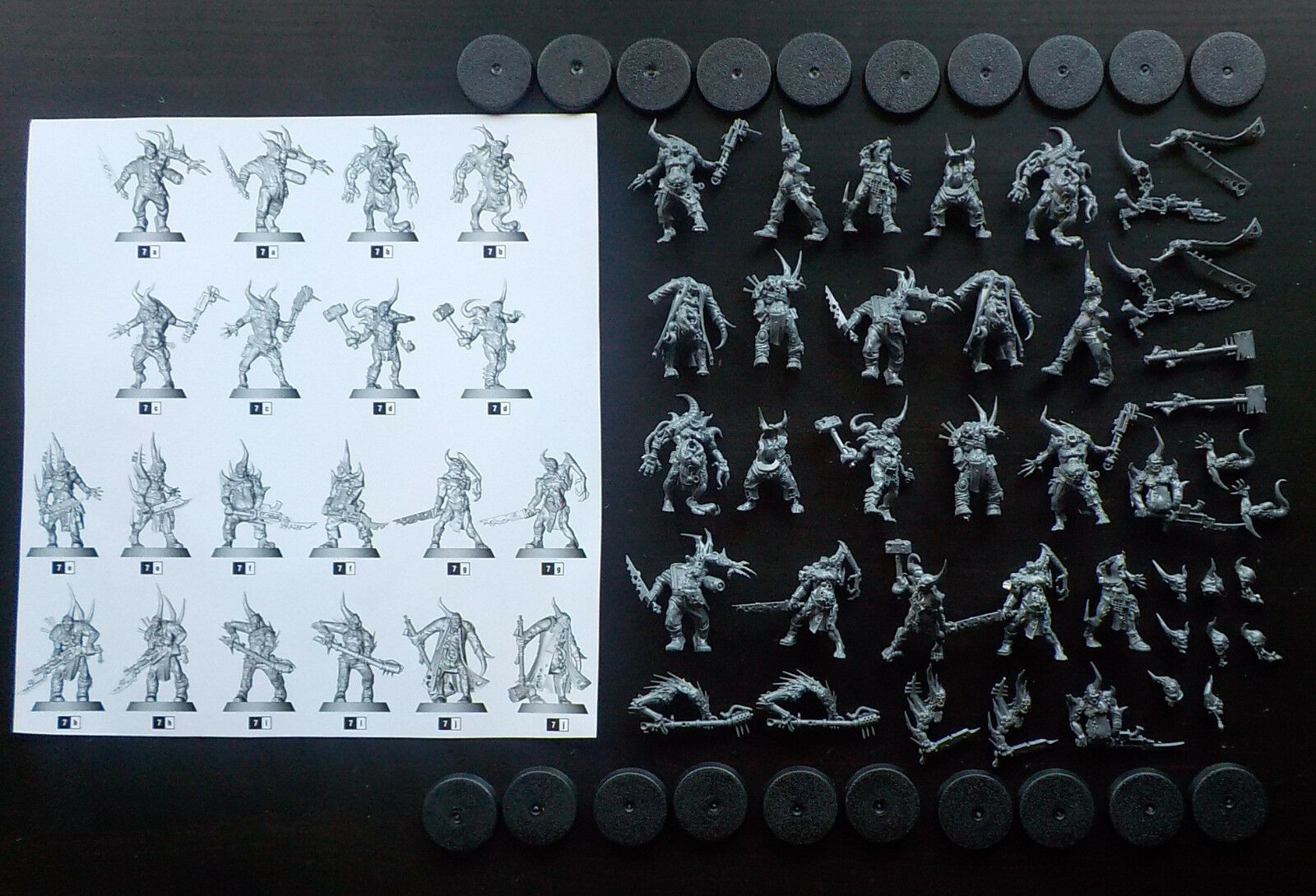 Warhammer 40k Dark Imperium Death Guard Poxwalkers x20