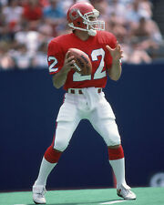1985 New Jersey Generals DOUG FLUTIE 8x10 Photo USFL Football Print Poster