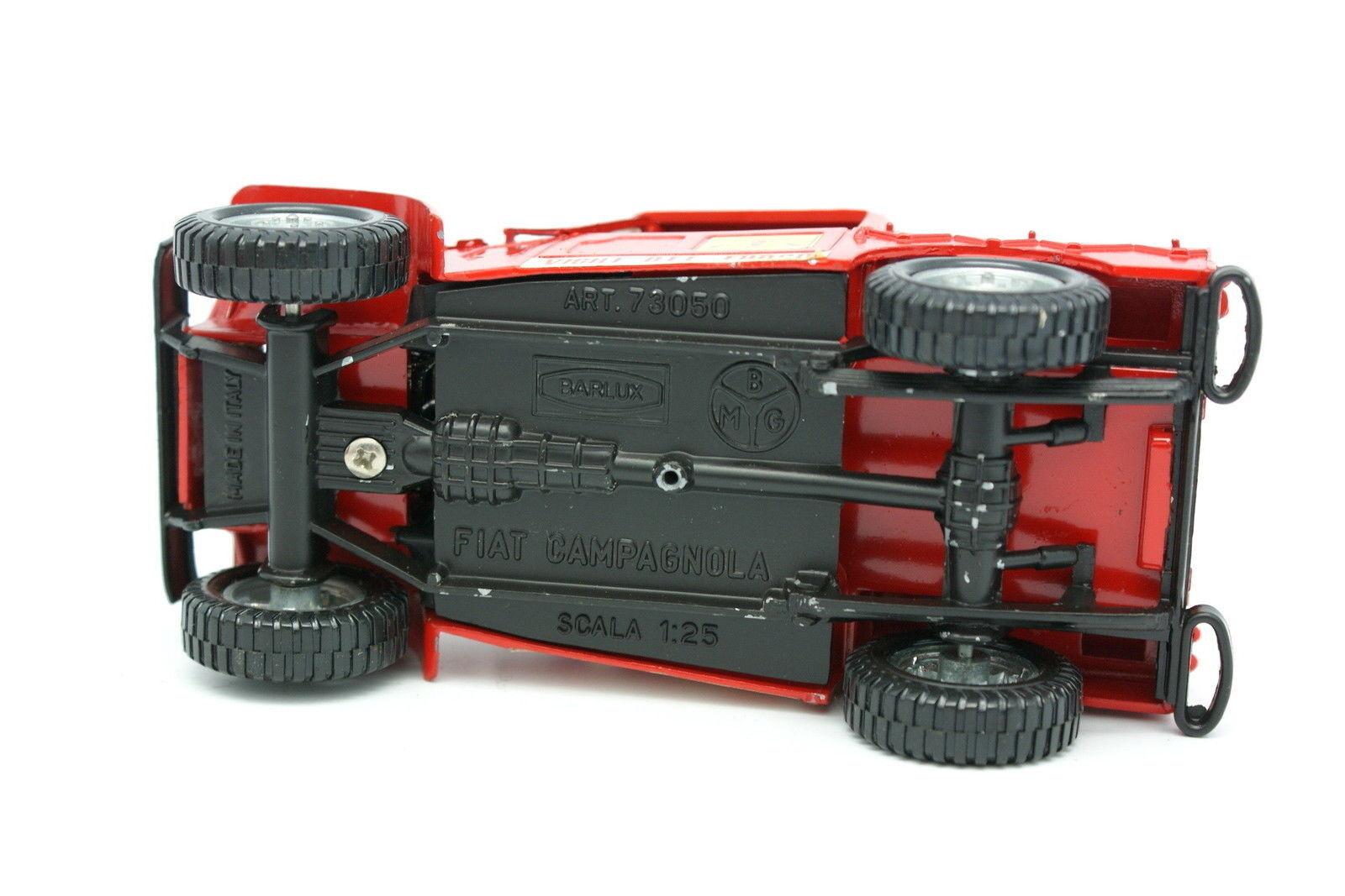 Barlux 1 1 1 25 - Fiat Campagnola Vigili Del Fuoco Pompieri Scala 66e161