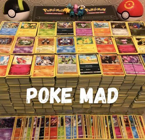 100 Joblot Genuine UK Pokemon Card Bundles-Holos /& Rare//No Fakes//No Doubles!!