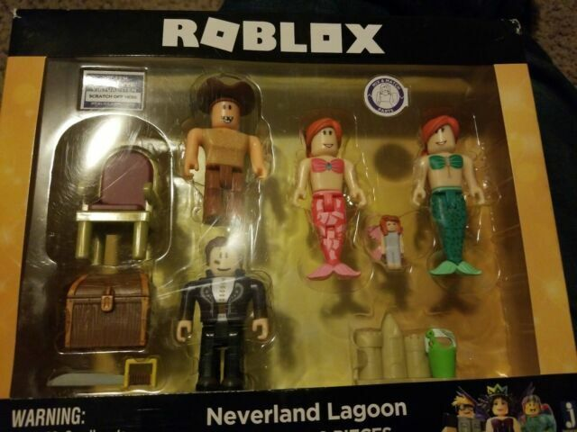 Roblox Neverland Lagoon Includes 9 Pieces Mix Match Parts 6 For