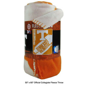 New-Northwest-NCAA-Tennessee-Volunteers-Fleece-Throw-Blanket-Large-Size-50-034-x60-034
