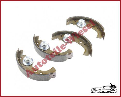SRL Bremsbacken Hinten für FIAT 126 127 128 CINQUECENTO DUNA 146 FIORINO 147