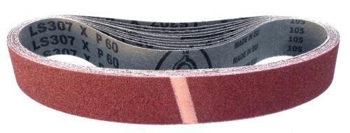 10er-set Klingspor court abrasives ls307xGrain p40-p180mesure au choix