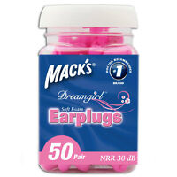Mack's Dreamgirl Soft Earplugs 50 Pack - 50 Pairs