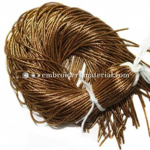French Wire Bullion Cut Finish Wire Bullion Wire Embroidery Jewelry Making 100gm