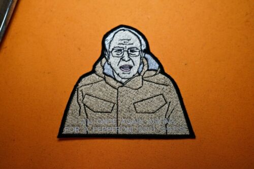 "2020 Presidential Campaign Meme Patch Bernie Sanders /"" I Am Once Again Asking /"""