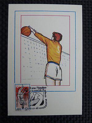 Ehrlichkeit Italien Mk 1978 Volleyball Sports Maximumkarte Carte Maximum Card Mc Cm C1713 Reines Und Mildes Aroma