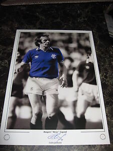 RARE-LIMITED-EDITION-COLIN-JACKSON-HAND-SIGNED-16-X-12-PHOTO-RANGERS