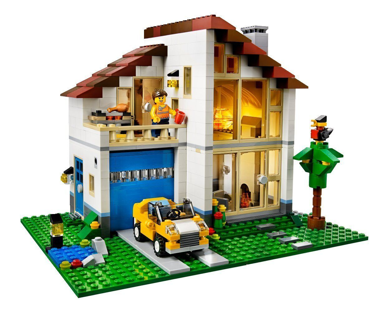 LEGO Creator Creator Creator Family House (31012) (Discontinued by manufacturer) 44ef87