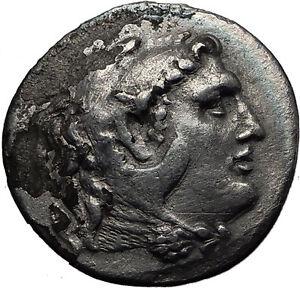 ALEXANDER-III-the-GREAT-250BC-Ancient-Silver-Greek-Tetradrachm-Coin-ZEUS-i60665