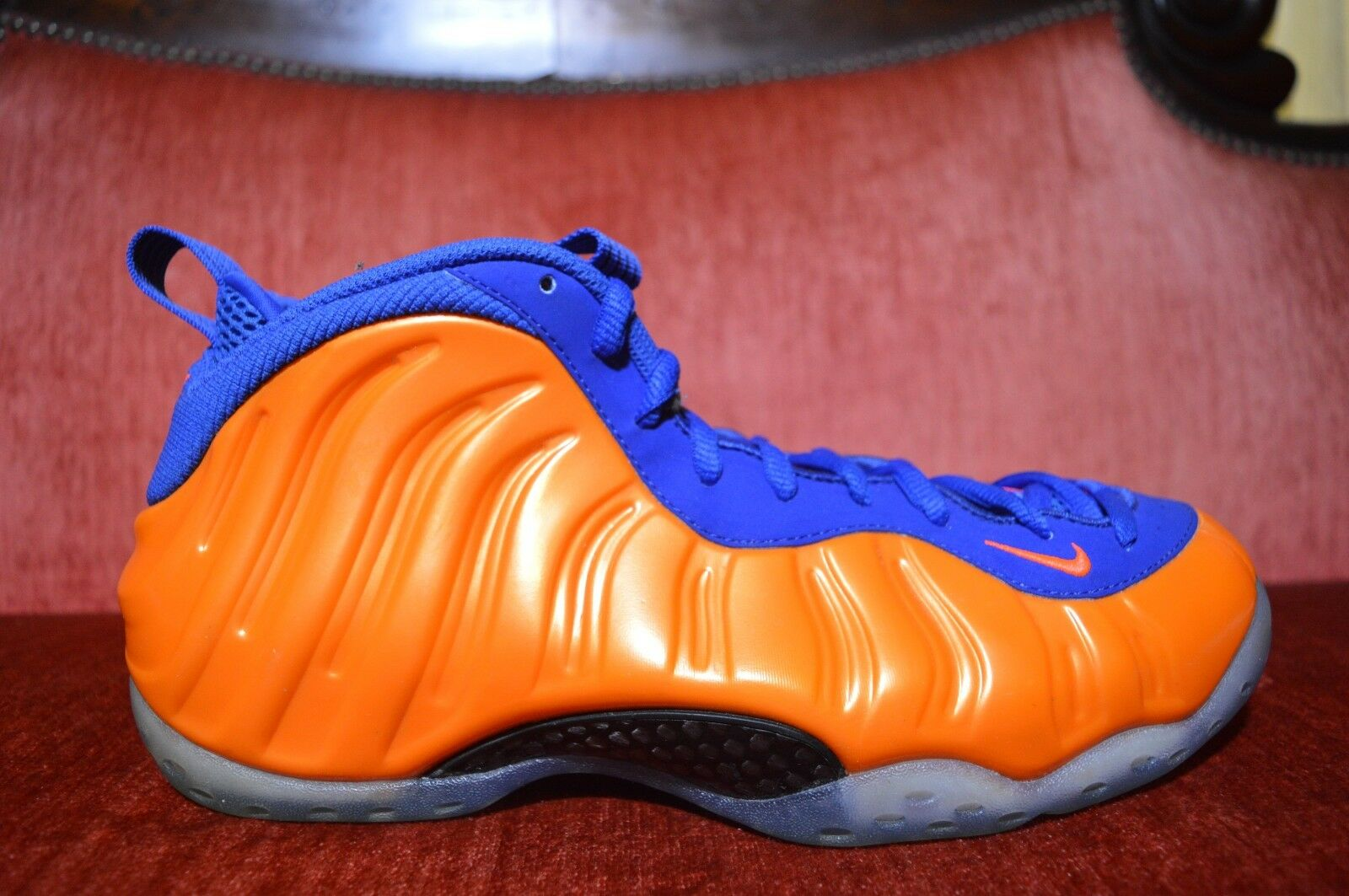 Nike Air Foamposite One New York Knicks Size 10 314996 801 jordan penny Blue