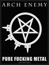 Arch Enemy - Pure Fucking Metal Patch Aufnäher Death Heavy Kutte gestickt NEU