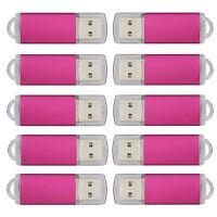 10pcs Usb 2.0 Flash Drives Memory Sticks Thum Pen Drives 2gb Enough Storage