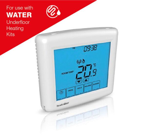 Heatmiser PRT-TS WiFi RF Programmable Room Stat