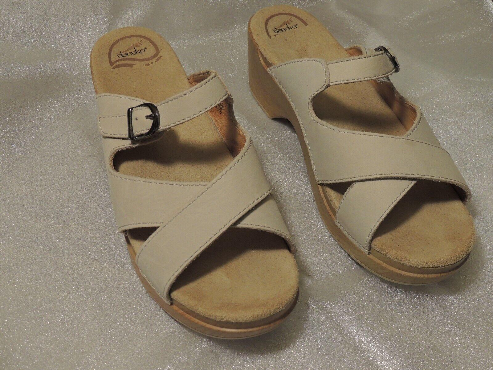 Dansko Leather Sandals Size 40