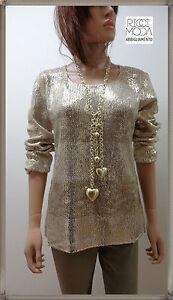 38-Keyra-039-donna-33-oversize-maglia-knitting-woman-dzhersi-yersey-oro-3800330609