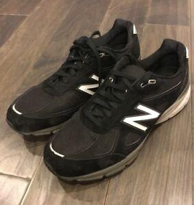 ac82058a7e55 New Balance Men s M990BK4 Black Shoes size 12.5 D Width sneakers ...