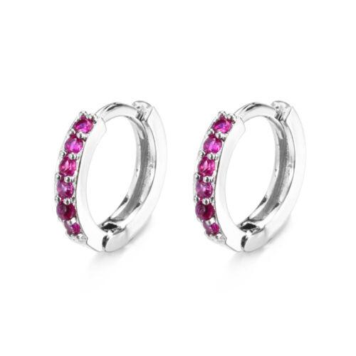 Chic Women Gold Filled Cartilage Ear Studs Hoop Earrings Dangle Drop Jewelry-/>