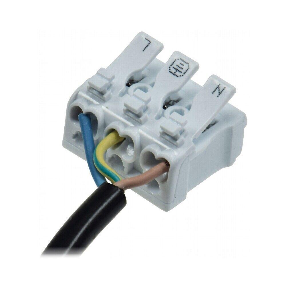 Verbindungsklemme Anschlussklemmen mit Hebel Kompaktspleißverbinder 3 Polig