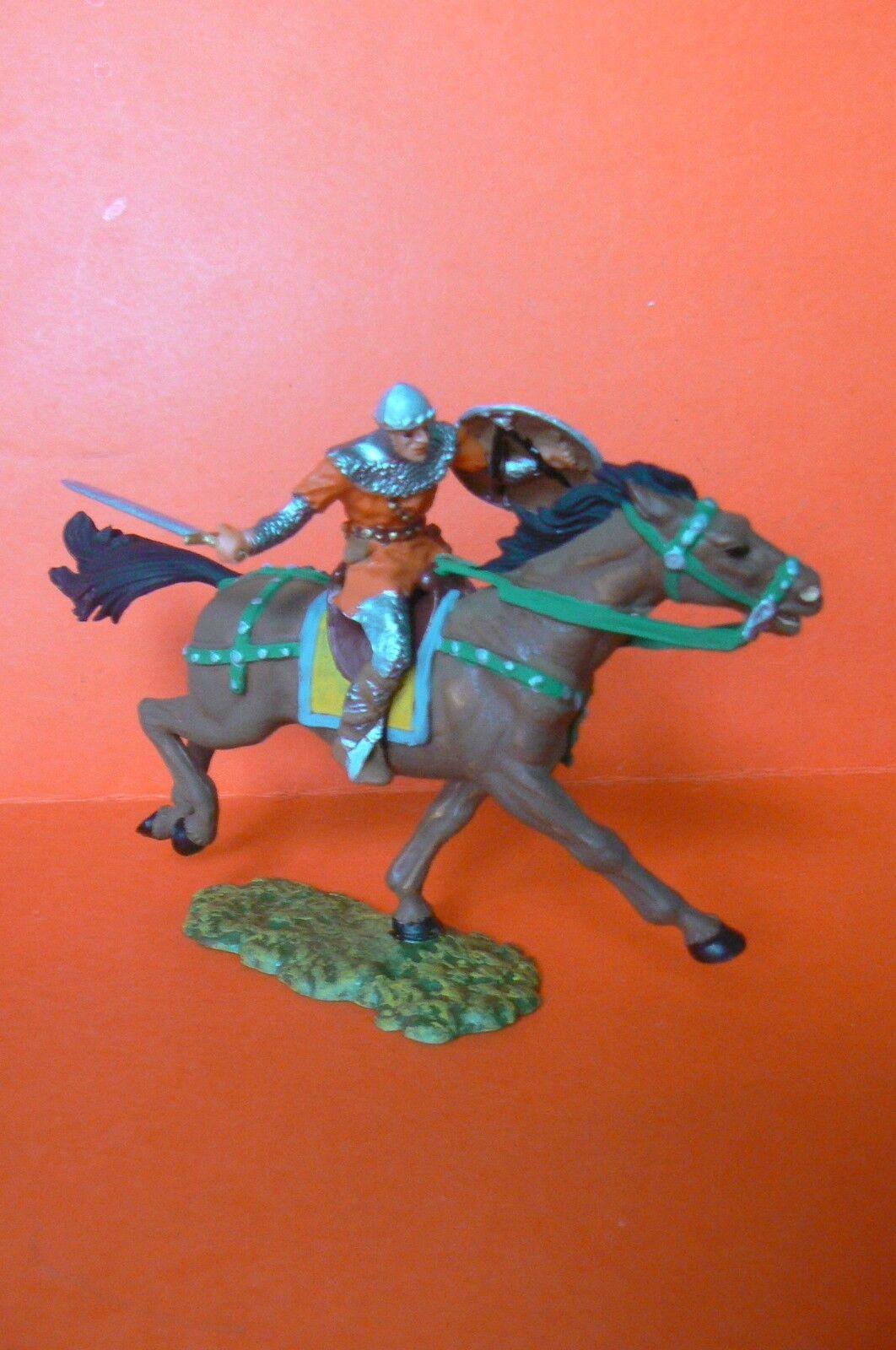 ELASTOLIN   MEDIUM AGE VERY BEAUTIFUL KNIGHT HAS HORSE