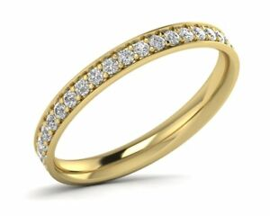 0-50CT-Round-Brilliant-Cut-Diamond-Full-Eternity-Wedding-Ring-in-18K-Yellow-Gold