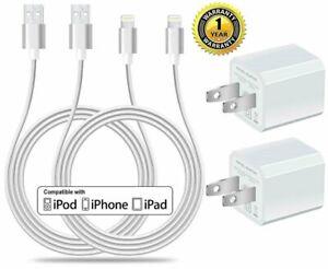 08c08f54fad 2 Cargador Pared 2 Cable De Carga USB Lightning Original Para Iphone ...