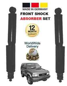 FOR ISUZU TROOPER 1991-1998 3.1 3.2 FRONT LEFT+RIGHT SHOCK ABSORBER SHOCKERS SET