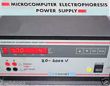 Consort e722 mc electrophoresis Power Supply biotec pescadores electroforesis red