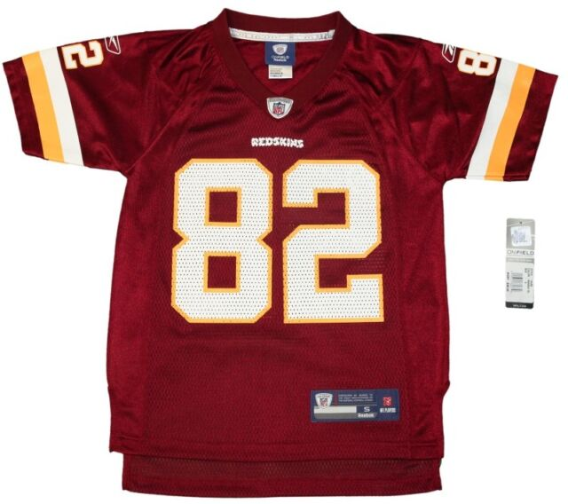 separation shoes eee64 14f91 Youth NFL Washington Redskins # 82 Antwaan Randle El Throwback Football  Jersey