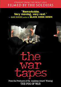 The-War-Tapes-DVD-2007-from-front-line-soldiers-IRAQ-war-Brand-new