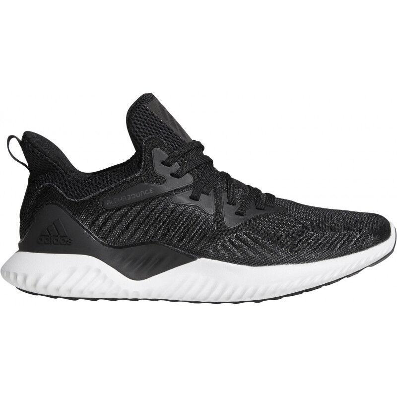 Para Hombre Adidas Alphabounce Beyond Para Hombre Zapatillas Para Correr-Negro 1