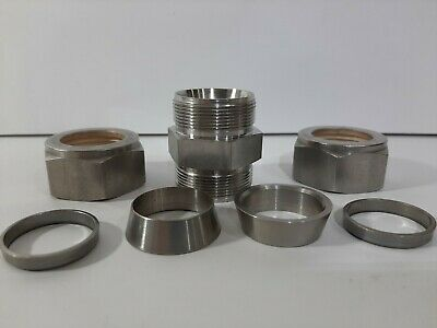 """Swagelok 3//4/"""" Stainless Steel Fitting Union Ss-1210-6 J10 for sale online"""