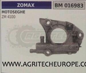 POMPA OLIO COMPLETA MOTOSEGA ZOMAX ZM 4100
