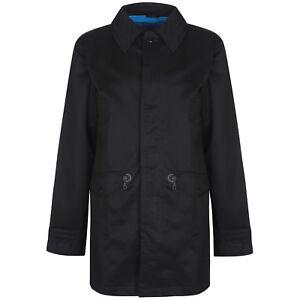 70f21e5e9f76b Adidas Originals Men's Trench Coat Mac Jacket Spring Casuals Street ...