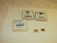 6 Amec 15zt 0016 Fb Z T A Super Cobalt Tin Coated 12 Spade Drill Inserts