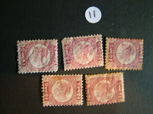 Antique Victorian GB stamps postal ephemera letters stamp collecting philately