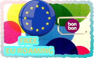New-Croatia-SIM-CARD-BON-BON-Croatian-Kroatia-ACTIVATED-SIM-CARD-EUROPE-EU