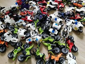 LEGO-x10-Qty-Ultimate-Motor-Bike-Dirt-Bike-Racing-Police-Bike-Suprise-Packs