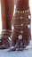 Tassel Chain Anklet Coin Ankle Foot Jewellery Single Barefoot Sandal Gold Silver